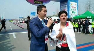 中国马拉松精英的超级星期日(二):李丹攻克徐州 何引丽夺牌重庆