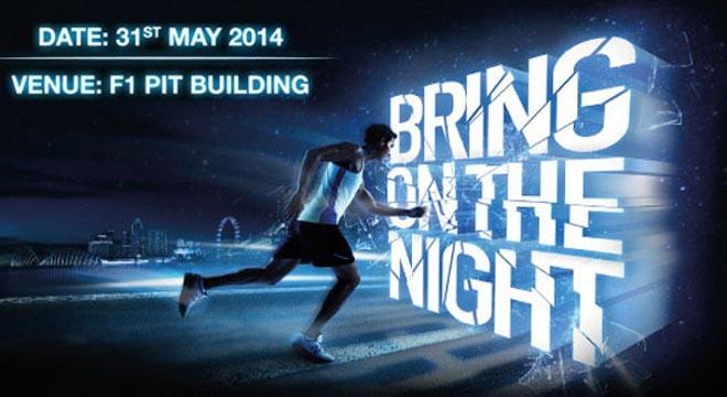 午夜里的激情 新加坡日落马拉松攻略