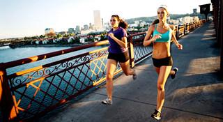 当美女在跑步时,她们都在想什么
