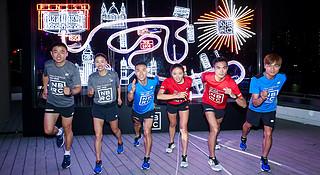 现场 | 伦敦马拉松开赛在即 New Balance在黄浦江畔举行了一个起跑仪式