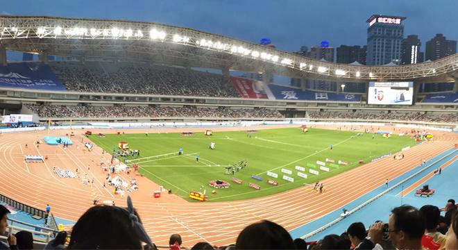 在上海,爱田径丨钻石联赛10周年