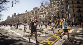 马拉松城纪   巴塞罗那马拉松:加泰罗尼亚的奇幻之旅