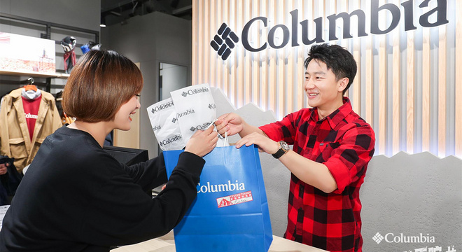 "Columbia携品牌代言人黄轩解锁冬日户外新""热""趣 ,#我的热浇不灭#"