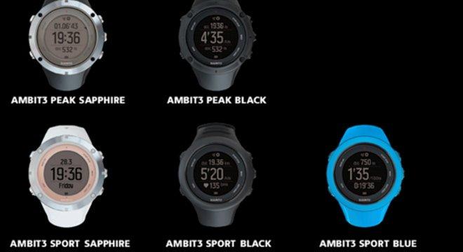 智能之蓝,未来之心—Suunto发布Ambit3智能GPS全运动腕表