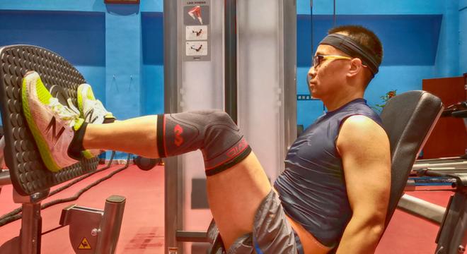 給膝蓋更好的保護亂靠,邁克達威針織高彈護膝5150使用體驗