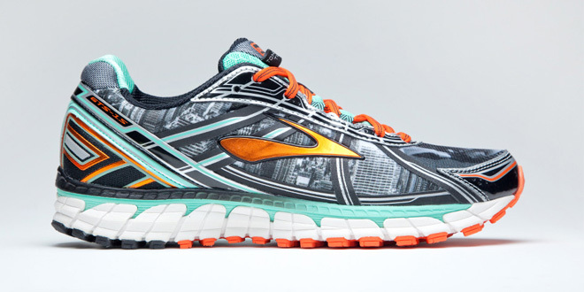 自由女神的化身—布鲁克斯Brooks Freedom Adrenaline GTS慢跑鞋