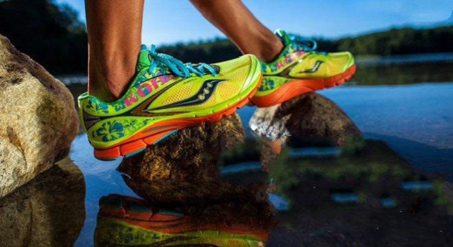 一双鞋子就够了—索康尼Saucony  Kinvara 八款限量版马拉松跑鞋