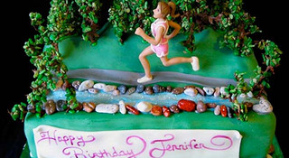 铁三选手的美味纪念,运动趣味蛋糕一览
