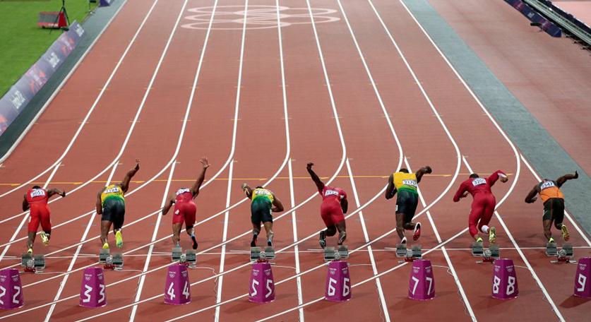 顶级运动员在不同比赛距离的配速策略