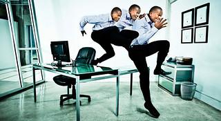 见缝插针小锻炼—办公楼里的快捷运动