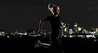 【跑步时间选择系列之三】-女白领的选择
