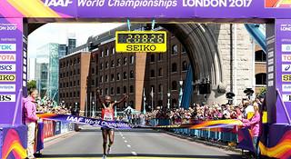 伦敦世锦赛 | 肯尼亚、巴林称霸男女马拉松 川内优辉跑进前十名