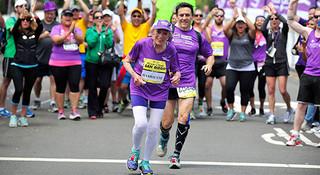 人物 | 哈丽雅特•汤普森:92岁的跑马女神
