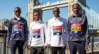 伦敦马拉松 | 世界纪录,女子精英和男子精英谁更接近?