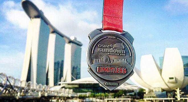 新加坡日落马拉松,跑者午夜激情 Sundown为你点燃