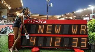 哈桑打破尘封23年1英里世界纪录 | 跑圈十件事
