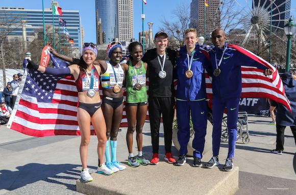 Rupp和Tuliamuk获美国马拉松奥运选拔赛冠军