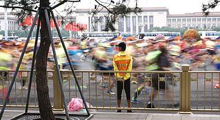 三万分之一 | 经历多年尴尬的吐槽后,36岁的北京马拉松正在赢回人心