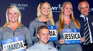 纽约马拉松 | 四胞胎的约定