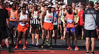 伦敦马拉松 | 现场图集