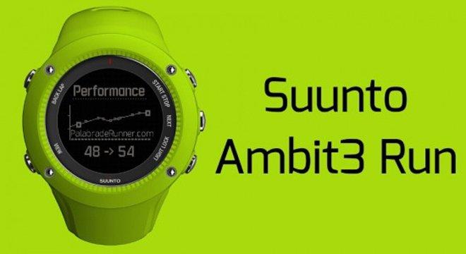 新品 | 一抹苹果绿,Suunto发布Ambit3 Run