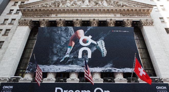 瑞士运动品牌On昂跑在纽约证券交易所正式上市