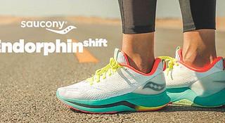 跑鞋|慢跑伴侣 Saucony Endorphin Shift