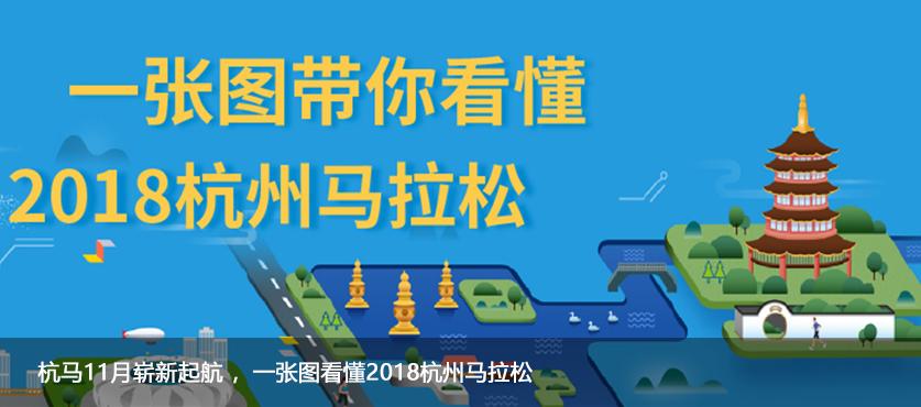 杭马11月崭新起航 ,一张图看懂2018杭州马拉松