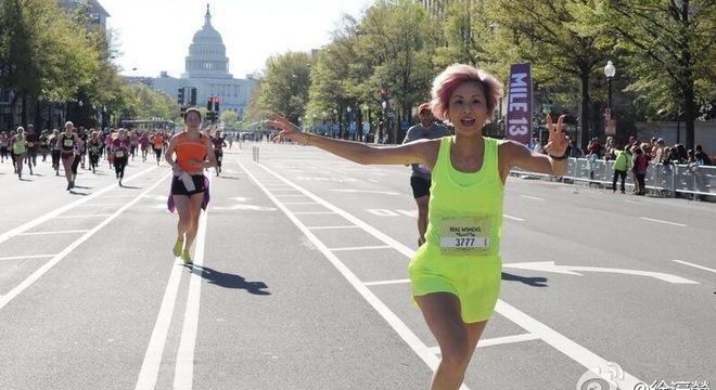 人物 | 徐濠萦:完成马拉松就像当上港姐一样开心