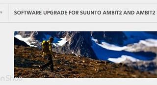 颂拓 (SUUNTO) 拓野 2(Ambit 2)软件 1.5版本升级说明