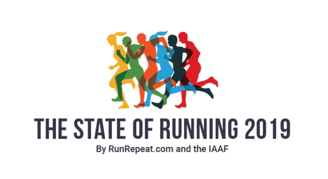 """跑步到底还""""热""""吗? 解读2019年全球跑步发展状况调研报告"""