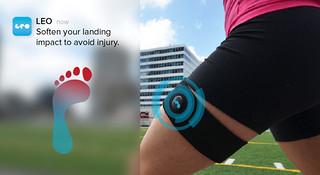 自带治愈光环—LEO:能预知伤病的智能腿套