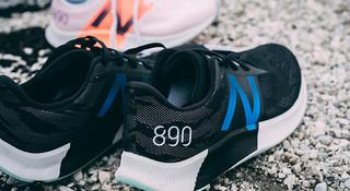 跑鞋 冷硬作派 New Balance 890V8