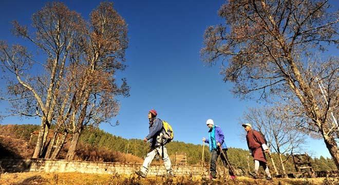 徒步不丹 探访虎穴寺