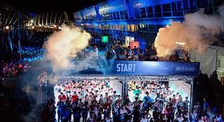 马拉松城纪 | 新加坡sundown日落马拉松:世界进入黑暗,我们开始狂欢