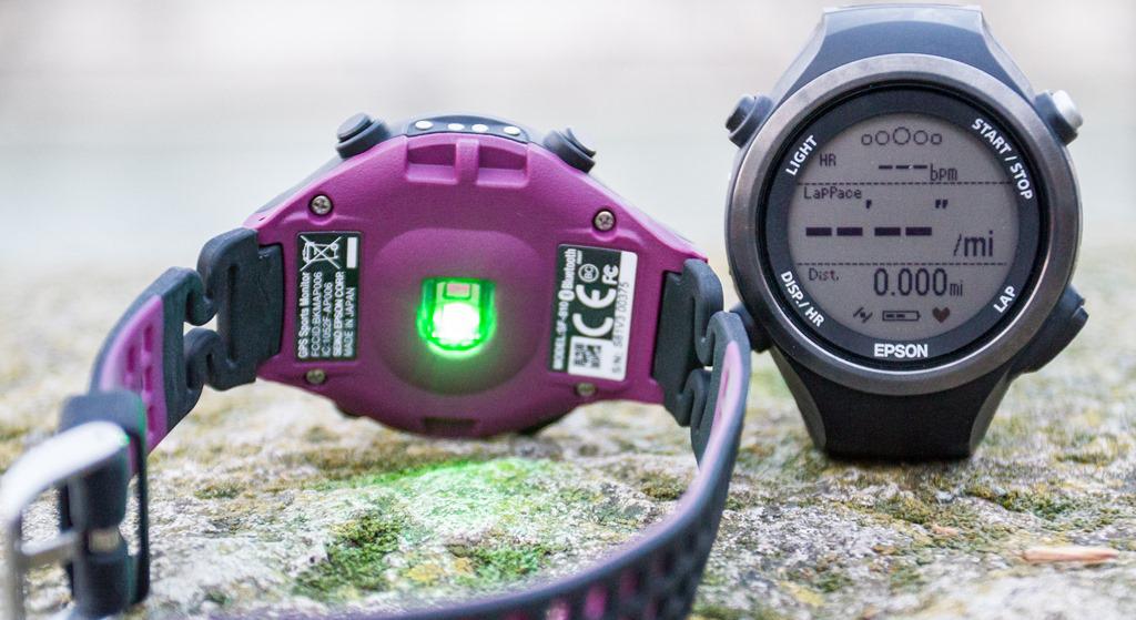 评测 | Epson SF-810 运动手表: 不只没有心率带