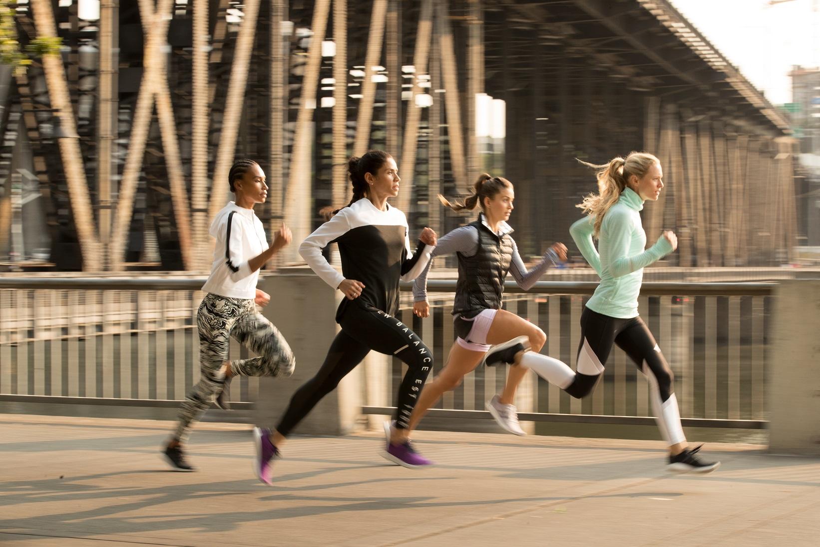 最美跑步瞬间