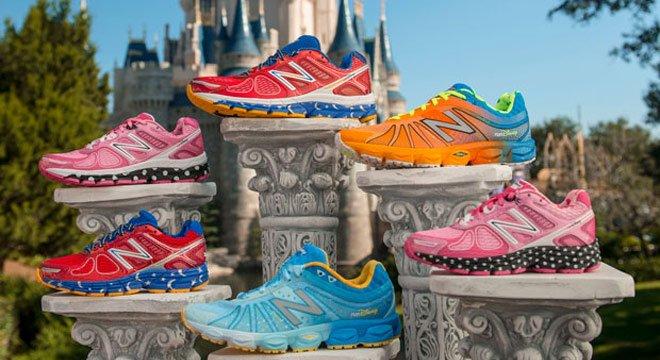 梦幻城堡的马拉松旅程—2014年New Balance  迪士尼限量版跑鞋
