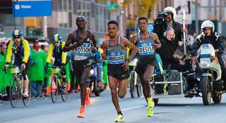纽约马拉松   2016纽马跑出两年来美国最快速度