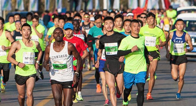 2018 泰兴国际半程马拉松赛