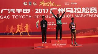 2017广州马拉松   中国马拉松年度收官战 业余跑者水平全面崛起