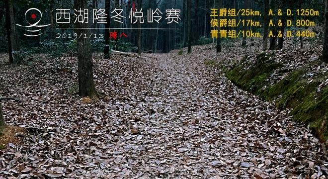 """2019 西湖""""隆冬悦岭""""赛"""