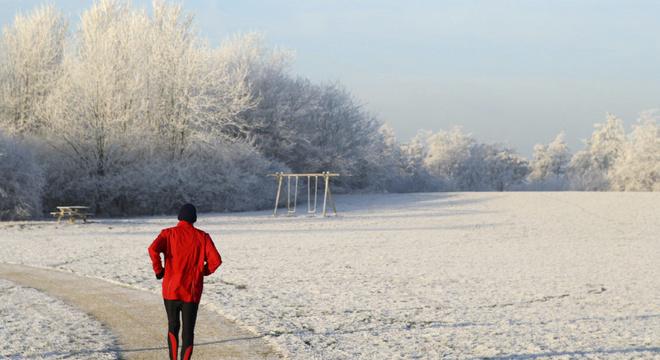 冬天为什么不能跑步!