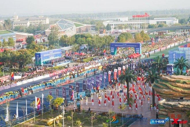 养元 六个核桃 2018衡水湖国际马拉松赛盛大开跑