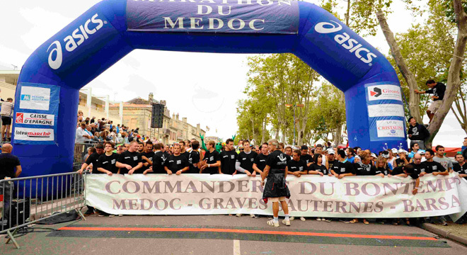 吃货也能马拉松—法国波尔多梅铎红酒马拉松